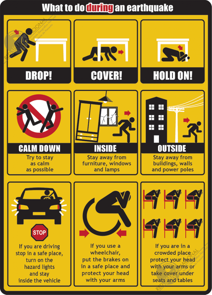 what to do in earthquake