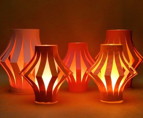Home decoration ideas for greener diwali go smart bricks for How to build a chinese lantern
