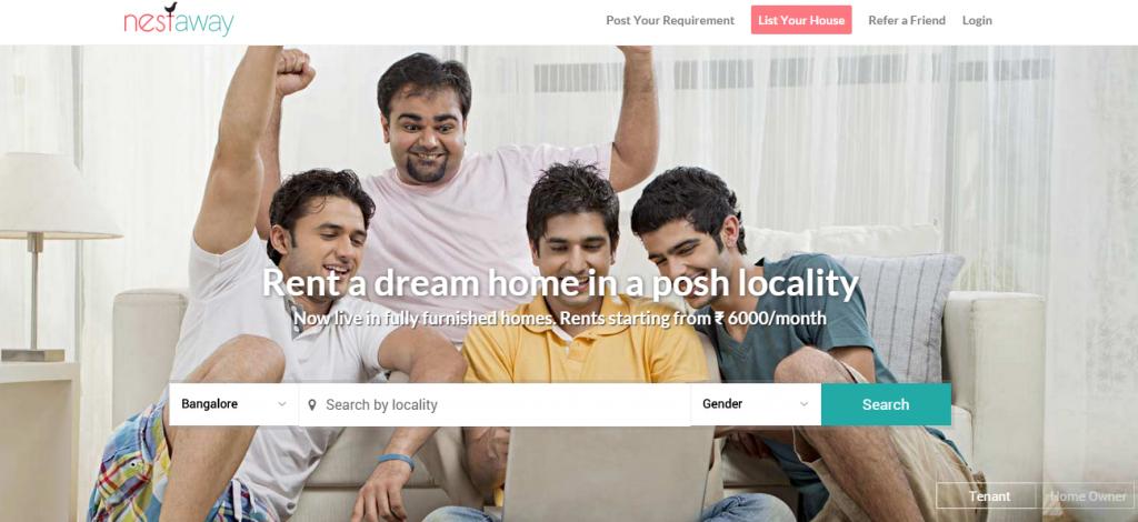 nestaway gosmartbricks Real Estate Portals in India