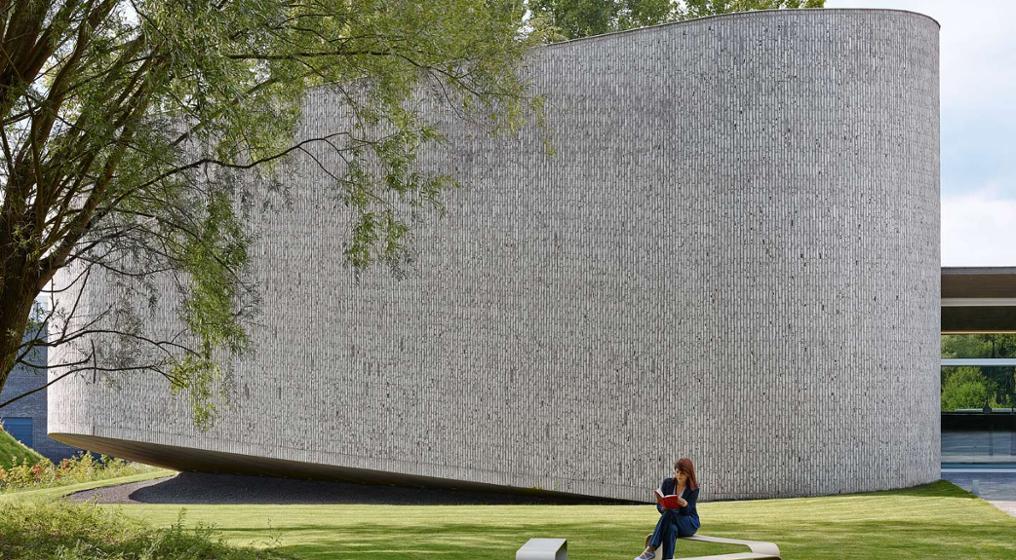 Auditorium AZ Groeninge Vzw, Kortrijk, Belgium by Dehullu Architecten