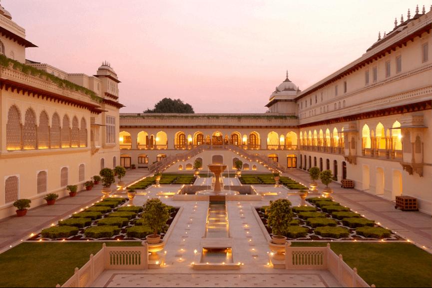 Taj Rambagh Palace, Jaipur