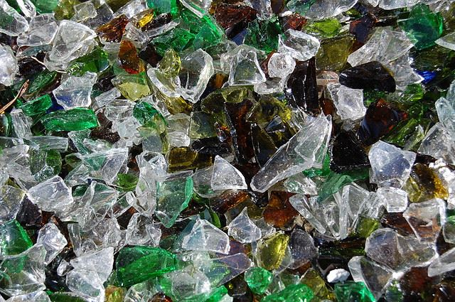 Recycled Glass Used As A Construction Material : Most commonly used construction and building materials
