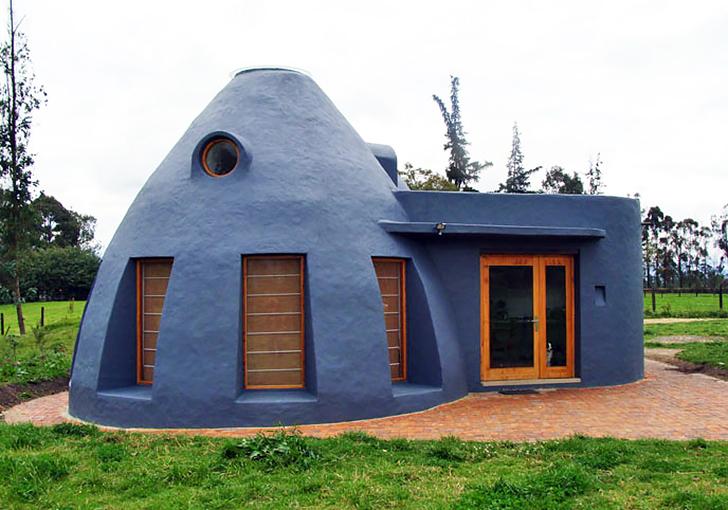 Green Building, sustainable building, earthbag building, earthbag, earthbag house, earthbag construction, sandbag house
