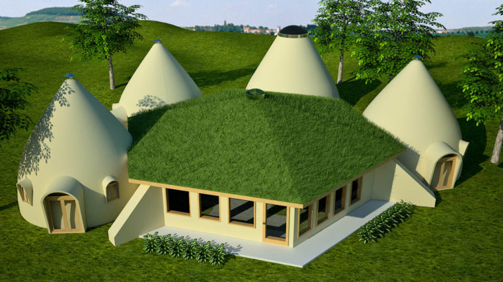 Green Building, sustainable building, earthbag building, earthbag, earthbag house, earthbag construction, sandbag house