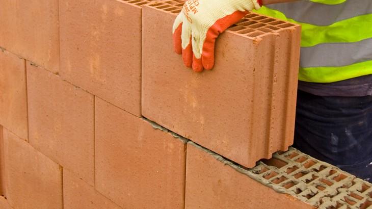 • Hollow bricks, Natural clay bricks, Porotherm