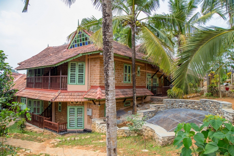 eco friendly house, building a sustainable home , green home , green house , ooru , kerala , Biju Abraham