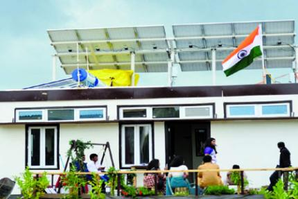 Project Solarise, Sustainable Housing Development, Solar Energy, Energy-Efficiency, Team Shunya, IIT-B