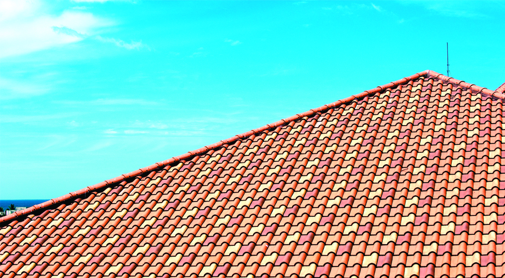 Clay roof tiles, clay roofs, roof tiles, roofing materials