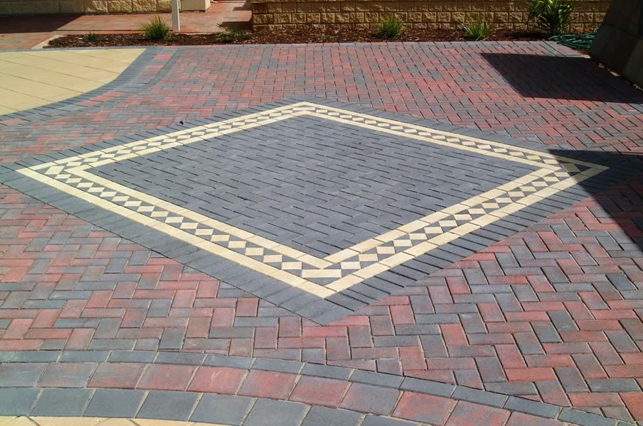 Brick Bonds, Brick Paving