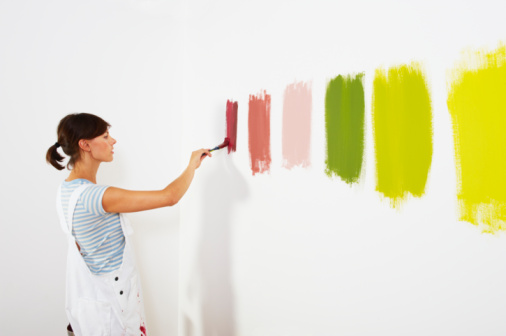 wall paint colors, painting styles, COLOR, PAINTS