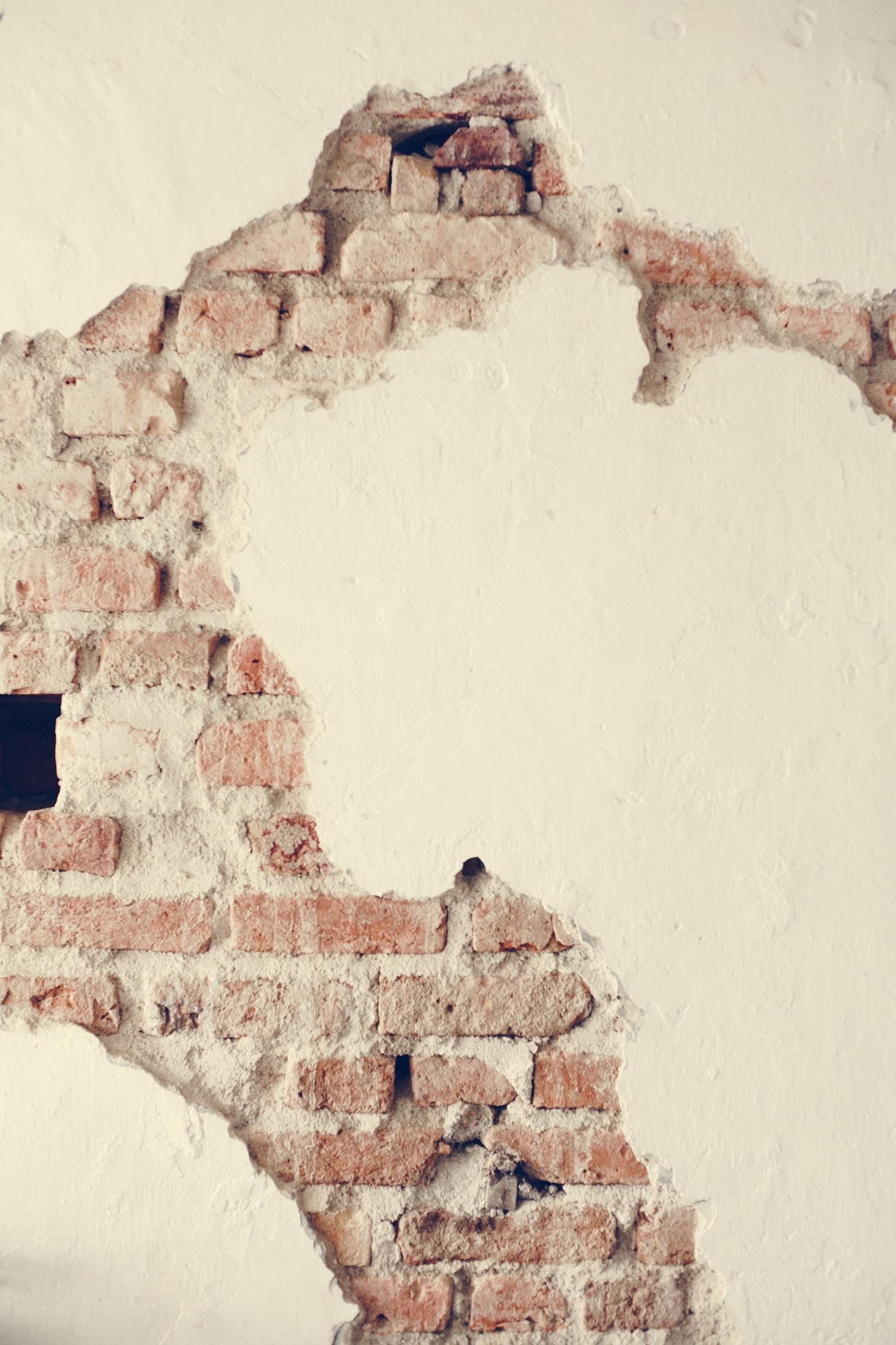Cracks In Buildings, cracks in walls,