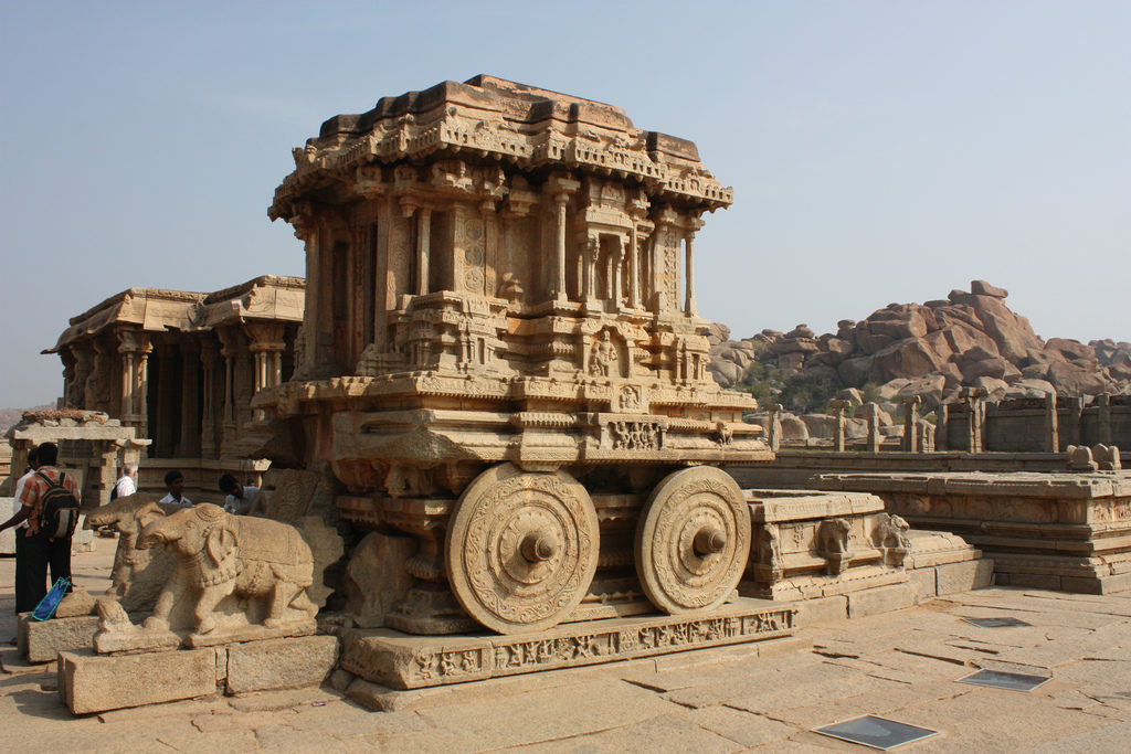 ancient buildings in india