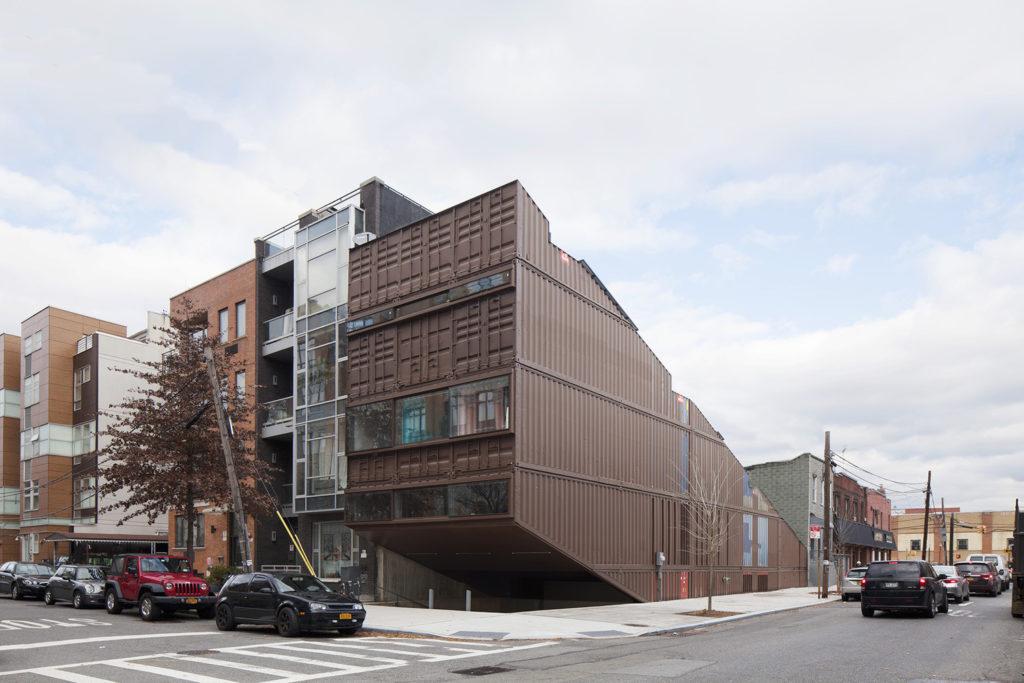 Facade Design, Recycled Materials